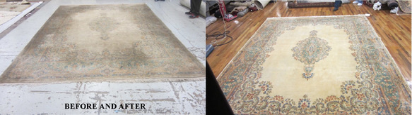 Mid to Downtown Manhattan NY Restorative Fine Rug Cleaning